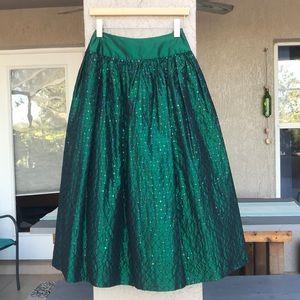 Scott McClintock Sportswear, green, sequin skirt.
